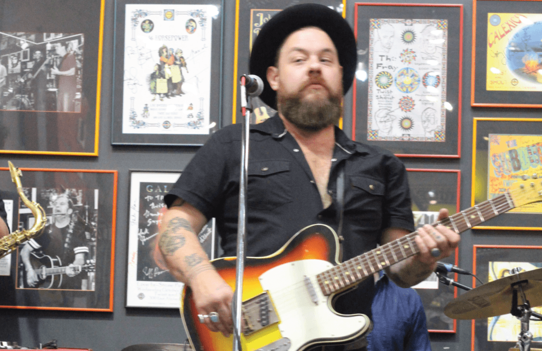 Listen to Nathaniel Rateliff & The Night Sweats on From the Bottom of the Record Box podcast