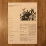 Quarterstick Records QS14 - Sleeve Notes