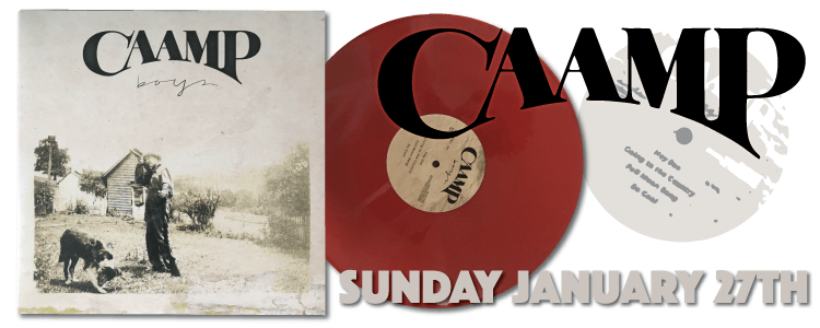 Caamp Boys EP Red Vinyl