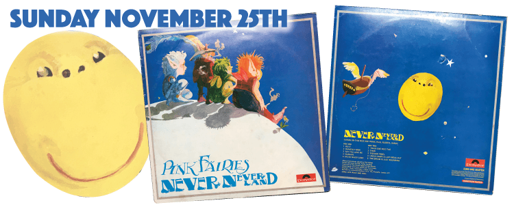 The Pink Fairies - Never Never Land