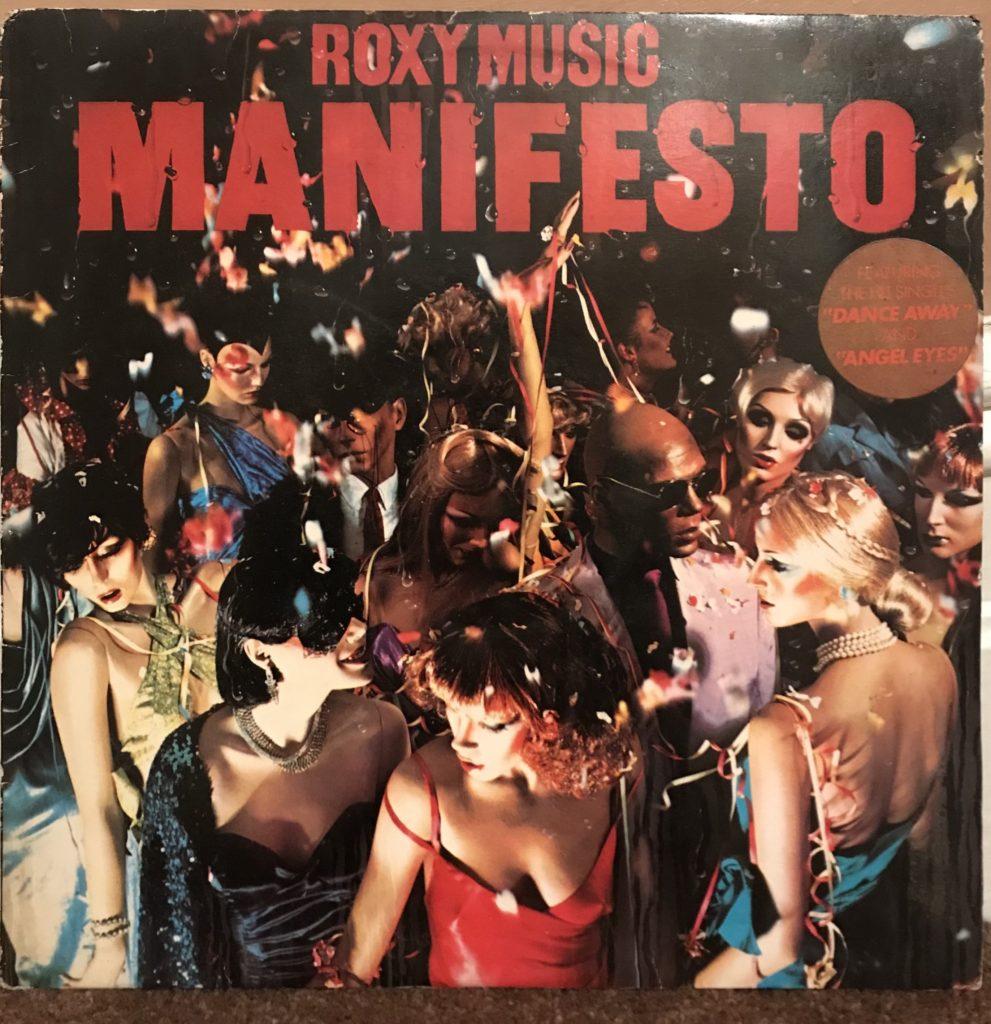 Roxy Music - Manifesto LP 1979
