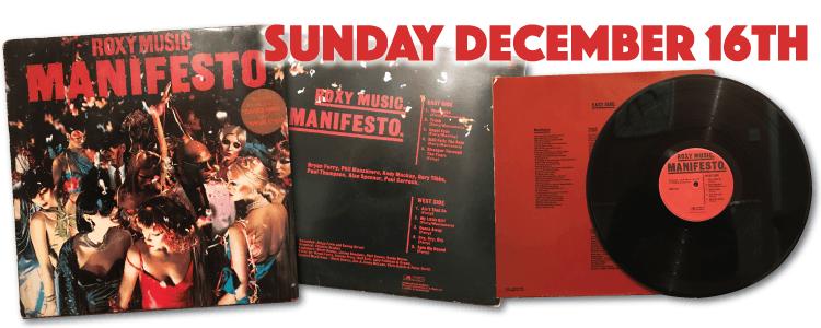 Roxy Music - Manifesto 1979