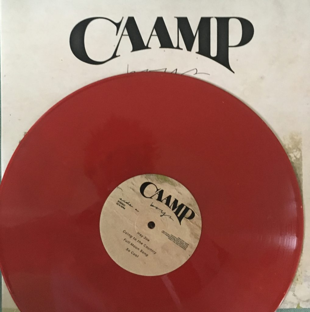 Caamp - Boys EP very limited edition red vinyl CAAMP002