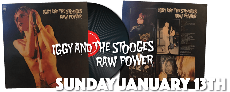Iggy and the Stooges - Raw Power LP Vinyl CBS 32083