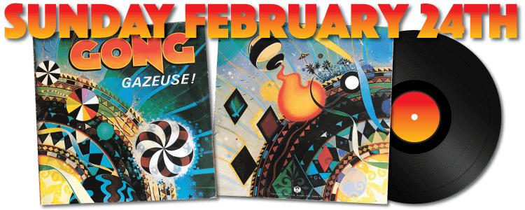 GONG Gazeuse! LP vinyl 1984 UK reissue OVED18
