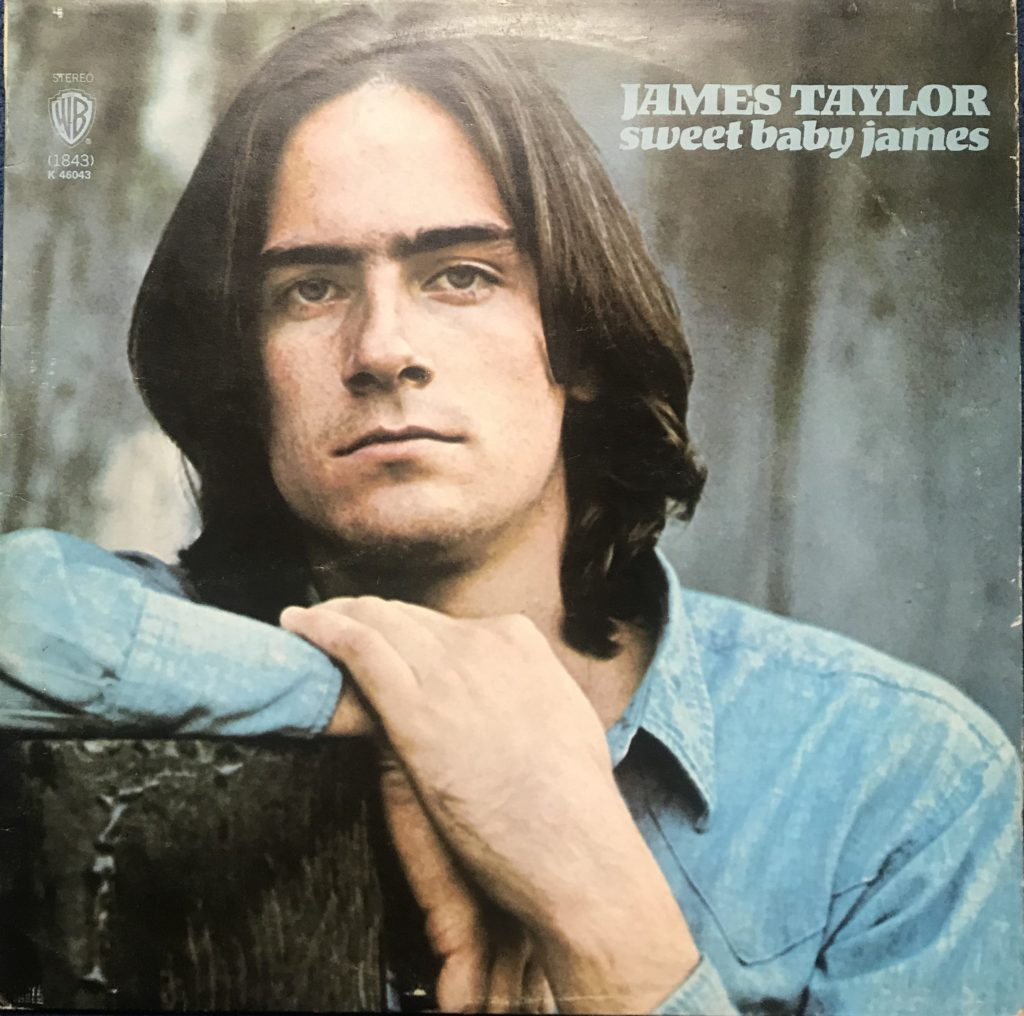 James Taylor's LP Sweet Baby James K46043
