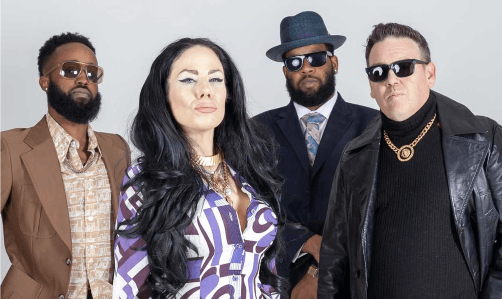 Laura Rain and The Caesars are a Detroit-based rock funk soul blues set up with sass by the bucketload