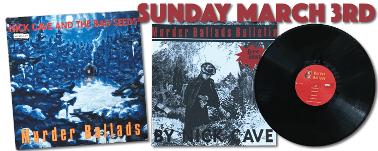 Murder Ballads Stumm138 UK vinyl release 1996 Nick Cave and The Bad Seeds