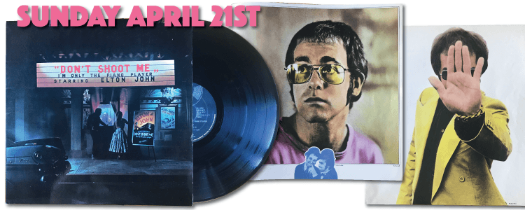 DJLPH 427 Elton John 1973 1st edition
