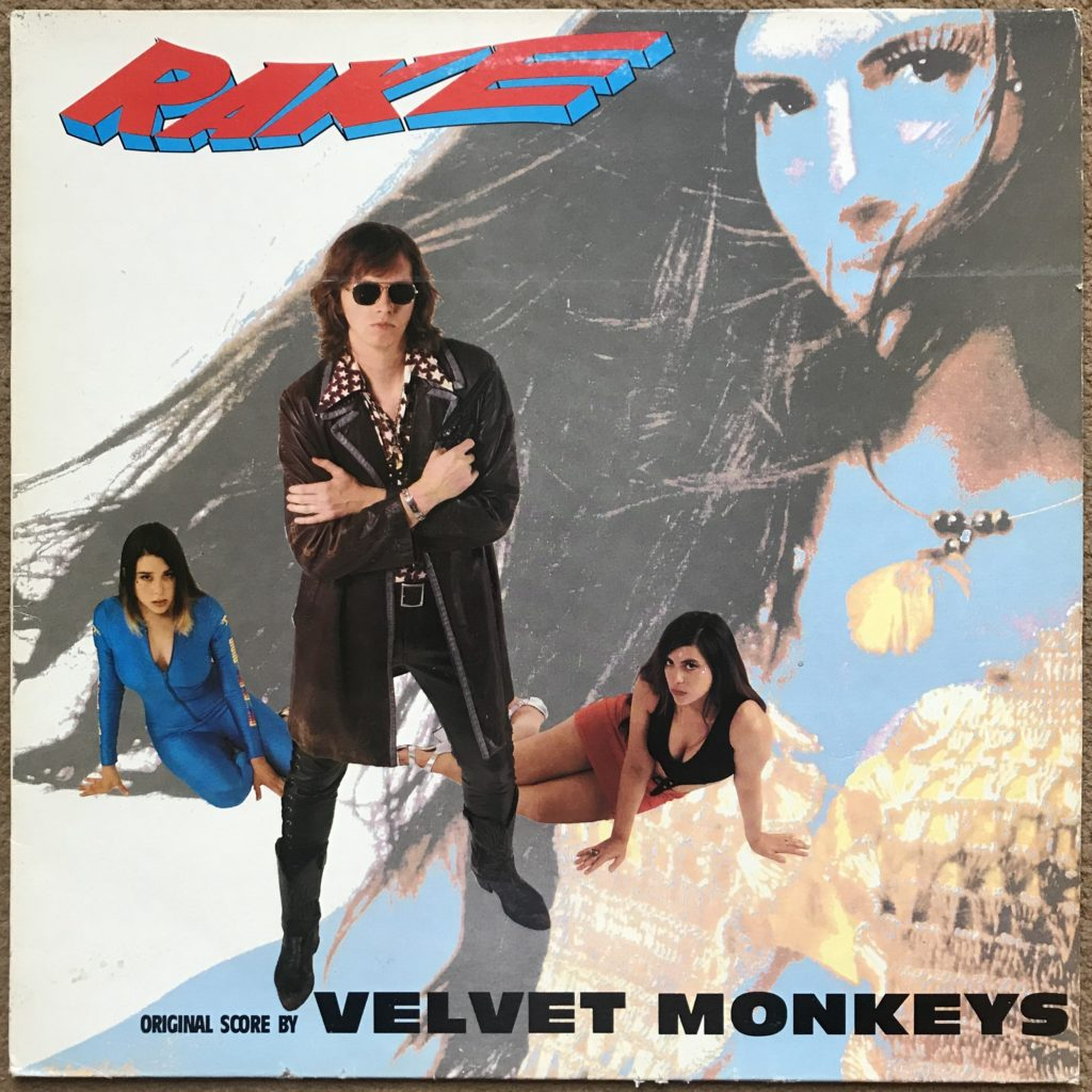 The Velvet Monkeys Rake Rough 159 uk vinyl 1990