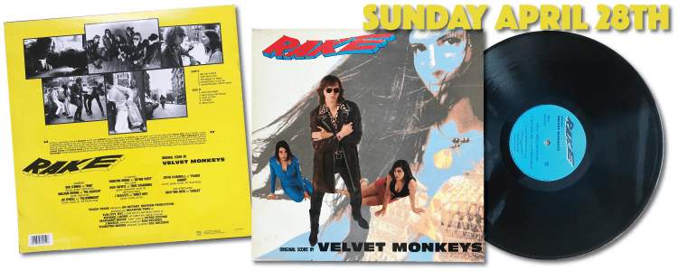 The Velvet Monkeys Rake Rough 159