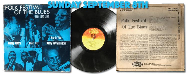 Folk Festival of the Blues Vinyl 1964 Pye International NPL 28033