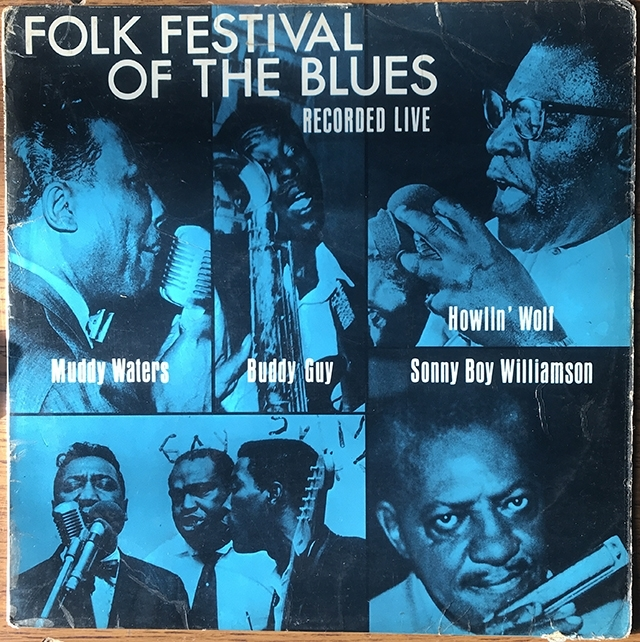 Folk Festival of the Blues Vinyl 1964 NPL 28033 Pye International