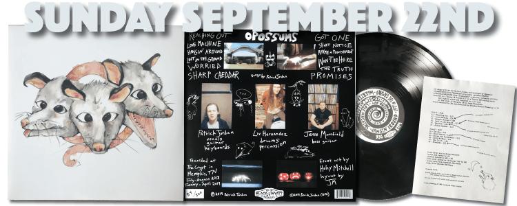 Opossums Debut LP Memphis TN
