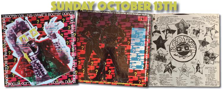 Bootsy Collins 1998 vinyl C 44107