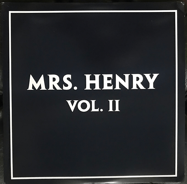 Mrs Henry Volume II gatefold sleeve double vinyl