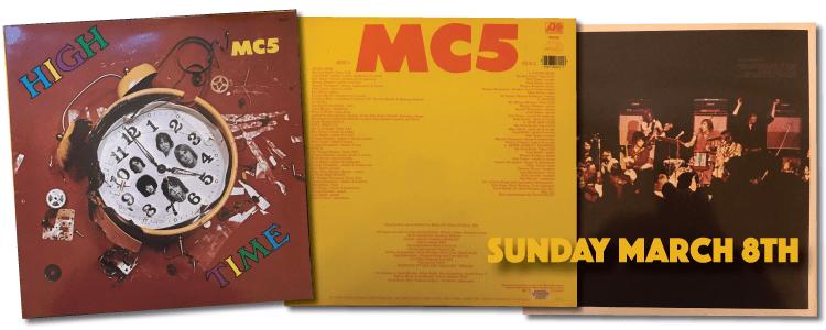 High Time Vinyl MC5